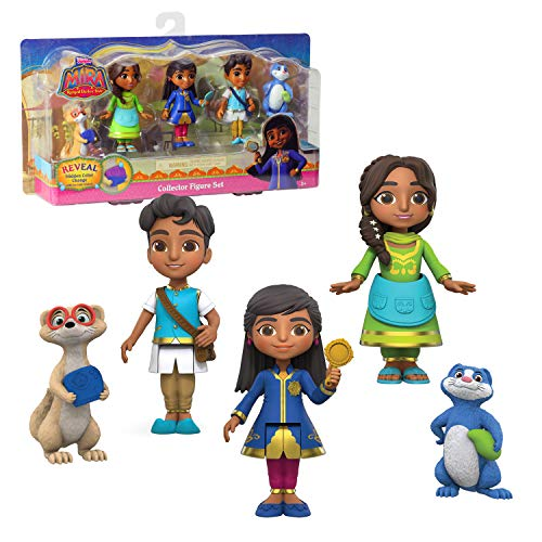 5-Pc Disney Junior Mira The Royal Detective Collector Figure Set $7.15 + Free Shipping w/ Amazon Prime or Orders $25+