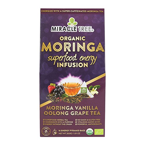 Miracle Tree's Energizing Moringa Infusion