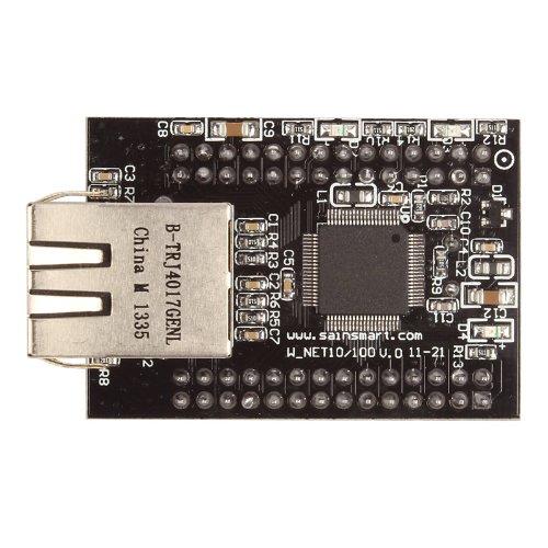 SainSmart–W5100modulo Ethernet, una scheda di estensione di rete per Arduino
