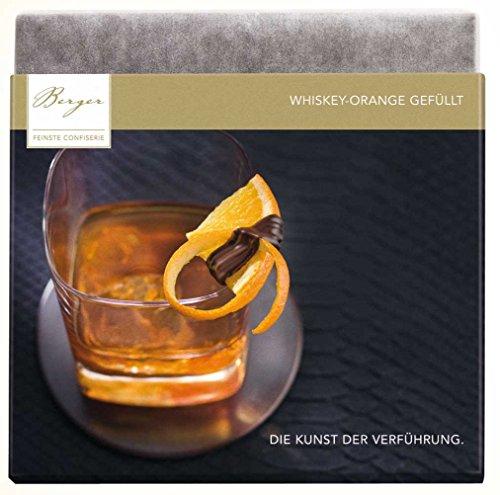 Berger Schokolade Whisky-Orange gefüllt 100 g