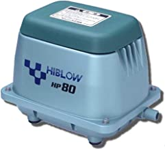 HI-BLOW (HP 80) LINEAR AIR PUMP POND AERATION SEPTIC AERATOR (Renewed)