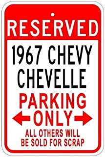 Metal outdoor wall art car lover gift garage decor Parking only sign with BENTLEY logo can be customize to your auto