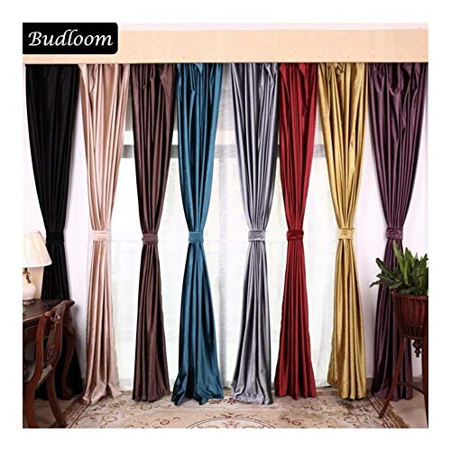 cortinas habitacion lila