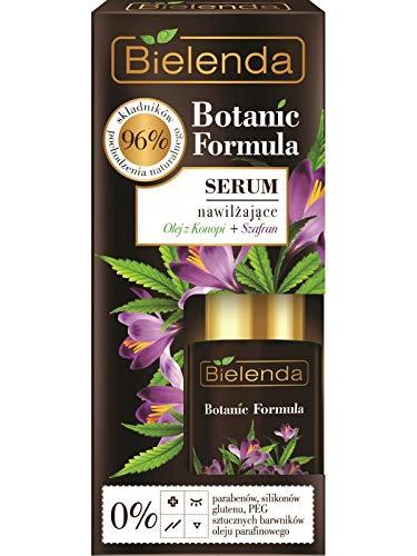 Bielenda Botanic Formula Antifalten Serum- mit Hanföl + Safran 15 ml 0% Parabene, 0% Silicone, 0% PEG