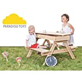Paradiso 101453 - Picknicktisch mit Sandkasten