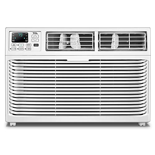 TCL Energy Star 8,000 BTU 115V Window-Mounted Remote Control, TWC-08CR/UH Air Conditioner White