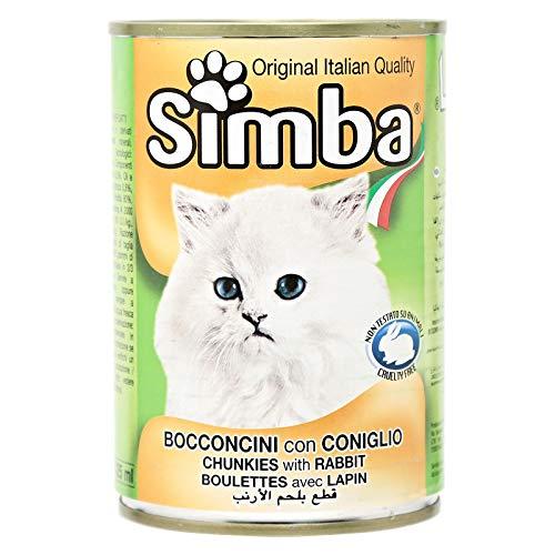 MONGE - SIMBA GATTO BOCCONCINI CON CONIGLIO 415 GR. - 0762