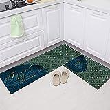Alfombrillas de Cocina geométricas Modernas, alfombras...