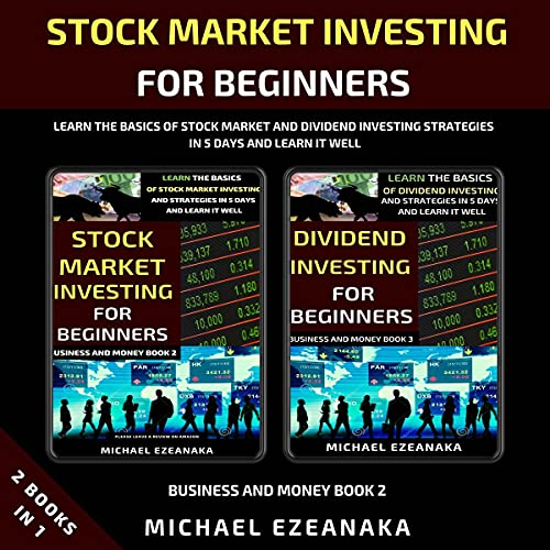 Stock Market Investing for Beginners (2 Books in 1) Audiobook By Michael Ezeanaka cover art