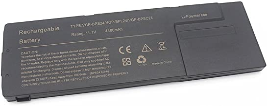 Etechpower Laptop Replacement Battery For Sony VAIO SA/SB/SC/SD/SE Series,Sony Vaio VPCSA/VPCSB/VPCSC/VPCSD/VPCSE Series VGP-BPL24 VGP-BPS24 VGP-BPSC24 PCG-41216L PCG-41217L PCG-41218L