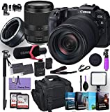 Canon EOS RP Mirrorless Digital Camera with RF 24-240mm Lens Plus Mount Adapter EF-EOS R Bundled w/ (Pro Microphone, 4 Pack Photo Editing Software & More)