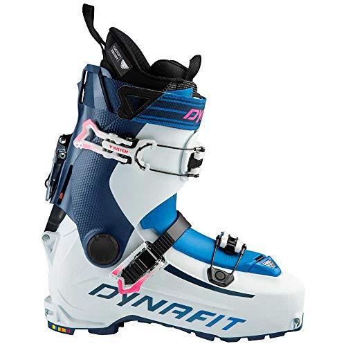 Dynafit HOJI PU W, Chaussures de Ski Femme, White/Poseidon, 40 2/3 EU