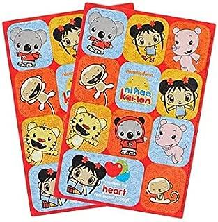 Ni Hao Kai Lan Sticker | Party Favor | 2 Sheets