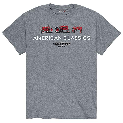 American Classic 3 IH Tractors - Men's Short Sleeve Graphic T-Shirt Athletic Heather