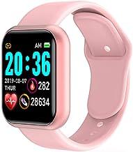 UIEMMY slim horloge Mode Smart Horloge Mannen Vrouwen Sport Y68 Horloges Waterdichte Bluetooth Polsband Bloeddruk Hartslag...