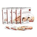 MASSAGE Video-Set mit 5x DVDs (Serie 1): Klassische Ganzkörpermassage | Fußreflexzonen-Massage | Lymphdrainage | Shiatsu-Massage | Baby-Massage | Inkl. gratis Tablet-/Smartphone-Version zum Download
