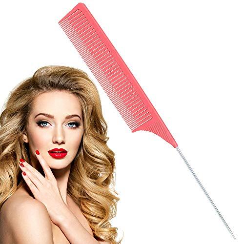 Nadelstielkamm, Premium Nadelstielkamm, Haarbürste Multifunktion, 2020 Neuentwicklung Friseurkamm,Antistatischer Styling Haarkamm, Styling für Männer und Frauen