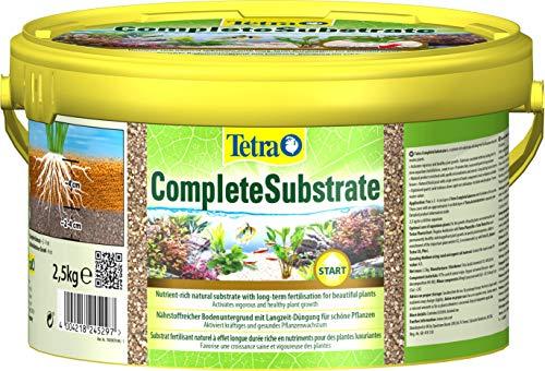 Tetra Complete Substrate, gebrauchsfertiges Bodengrundkonzentrat, Neueinrichtung von Aquarien Aquarienkies, 2, 5 kg Eimer