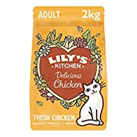 Nutritionally complete and natural dry food for adult cats (1 year +) Freshly prepared with proper meat: 65 Percent chicken and 5 Percent chicken liver Natural cat food with added vitamins and chelated minerals to help maximise nutrient absorption Co...