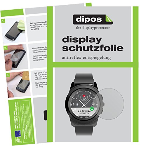 dipos I 6X Schutzfolie matt kompatibel mit MyKronoz ZeTime Folie Bildschirmschutzfolie
