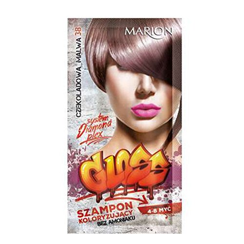 Marion - Champú de color brillante para el cabello en bolsitas de 4 a 8 lavados de amoníaco FREE 38 chocolate Mallow