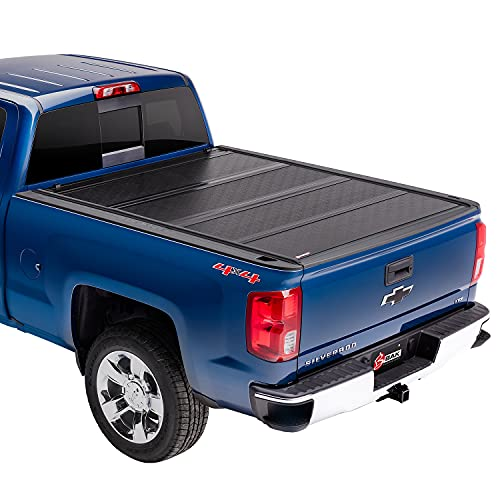BAK BAKFlip G2 Hard Folding Truck Bed Tonneau Cover | 226120 | Fits 2014-2018, 19 Ltd/Legacy Chevy/GMC Silverado/Sierra Limited/Legacy, 2014 1500, 2015-19 ALL 5' 9' Bed (69.3')
