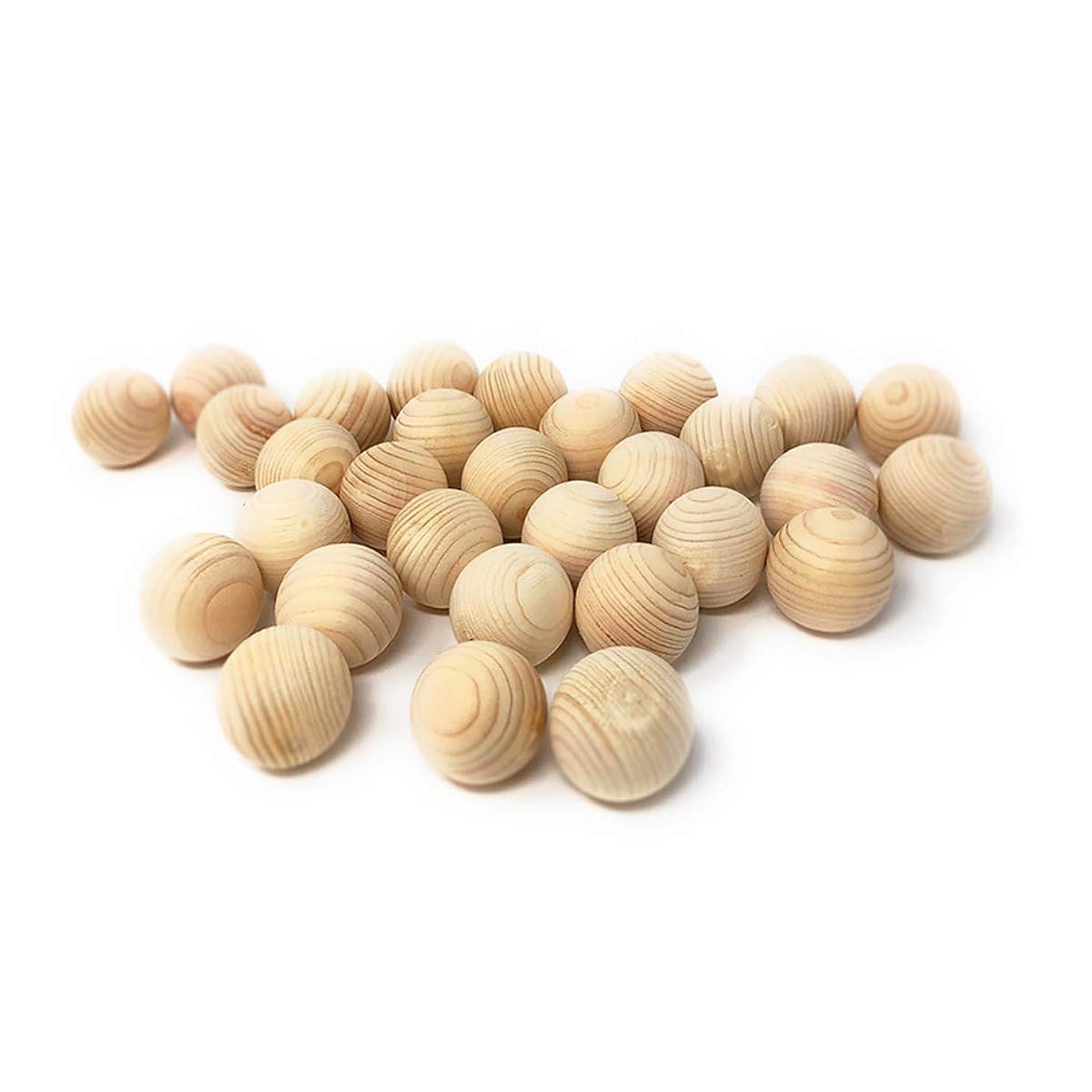 にマナーコジオスコ国産 ひのき玉 30個セット 35mm 天然 木曽ひのき お風呂玉?香り玉 ヒノキボール