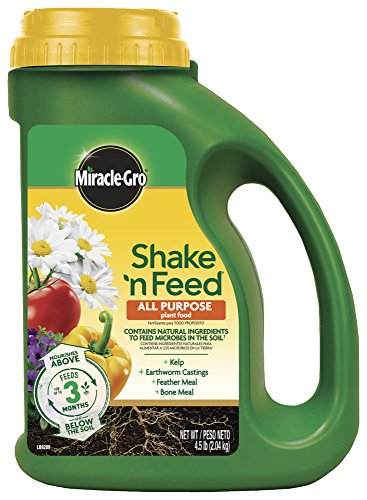 Miracle-Gro Shake 'N Feed All Purpose Plant Food, 4.5 lbs,...