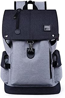 Fmdagoummzibeib Backpack, Water Repellent Anti-Theft Bag Backpack ,with USB Charging Port, Suited For Travel , Hiking Dayp...