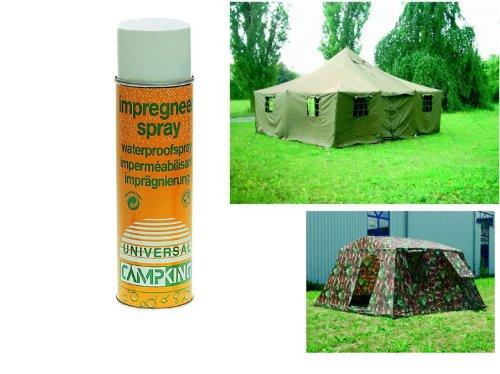 Mil-Tec Imprägnierspray 500ml Universalspray für Zelte Campingspray Regenschutz