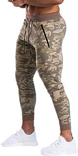 U/A Mens Joggers Pantaloni Casual Fitness Uomini Sportswear Bottoms Skinny Pantaloni della Tuta Pantaloni Camouflage