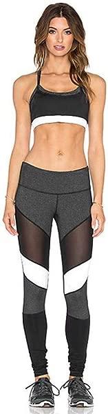Wodceeke Yoga Pants Workout Leggings Women Fashion High Waist Tummy Control Girls Athletic Gym Tights