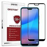 OMOTON Huawei P20 Lite Film Protection Ecran Verre Trempé (5.84') [Couvir l'écran Complèt] [sans...