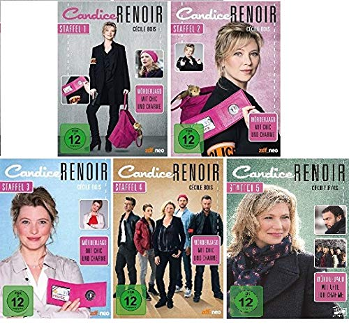 Candice Renoir - Staffel 1+2+3+4+5 im Set - Deutsche Originalware [16 DVDs]