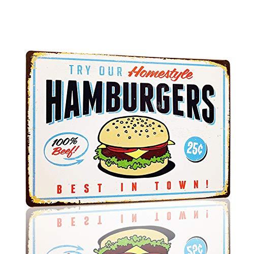 Mmount Hamburgers Retro Vintage Signs