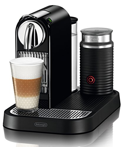 DeLonghi EN 266.BAE Nespresso Citiz Kapselmaschine (1710 Watt, 1 Liter) schwarz