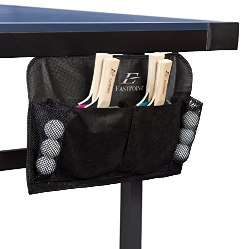 Big Save! EastPoint Sports 4 Player Table Tennis Paddles & Balls Set Mountable Case Holder