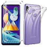 iLieber Samsung Galaxy M11/A11 Hülle Panzerglas, [1