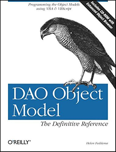 DAO Object Model: The Definitive Reference