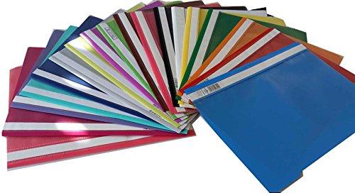 18 Schnellhefter A4 18 Farben PP-Folie transparentes Deckblatt