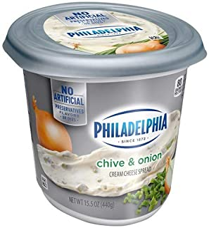 Philadelphia Chive & Onion Cream Cheese Spread 15.5 oz