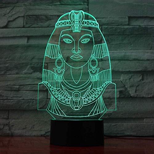 3D Illusie lamp Nacht Licht Schaken Modeling Bureau LampChanging Paard Schaken Verlichting armaturen Slaapkamer Bedkant Decor Geschenken USB 7 Kleuren (Afstandsbediening)