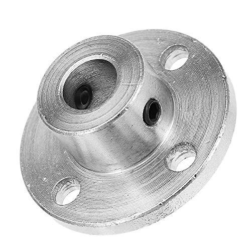 ZOYOSI 8mm Flange Coupling Steel Rigid Flange Coupling Motor Guide Shaft Axis Bearing Fitting