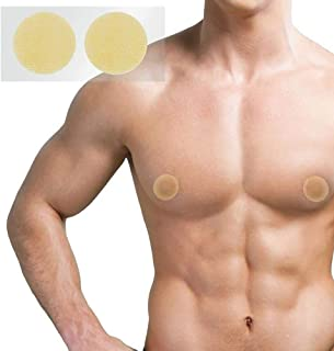 Gynecomastia Men's Nipple and Areola Cover, Sticker or Patch Used to Conceal, Protect and Hide Puffy Nipples, Man Boobs or...
