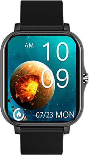 series 2 Full touch Smartwatch Color Black with 1 69 Large display Bluetooth Calling SpO2 Metal body Built in Games Heart rate monitor Multiple Watch Faces and Long battery life
