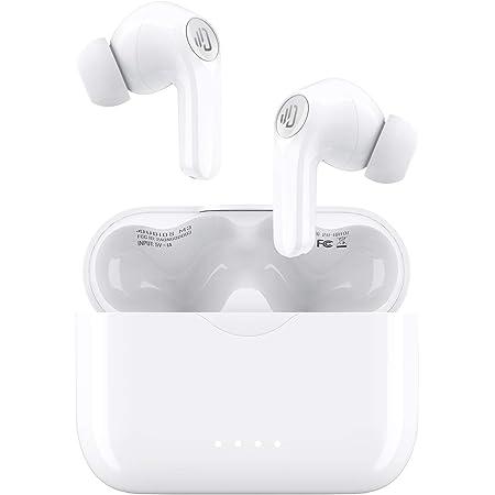 Audifonos inalámbricos, Auriculares Bluetooth 5.0 Micrófono incorporado, Carga rápida Tipo-C / Controlador de 10 mm / Cancelación de ruido CVC8.0 / IPX7 Impermeable / 25 horas de reproducción / Graves profundos, Auriculares inalámbricos para gimnasio deportivo Oficina