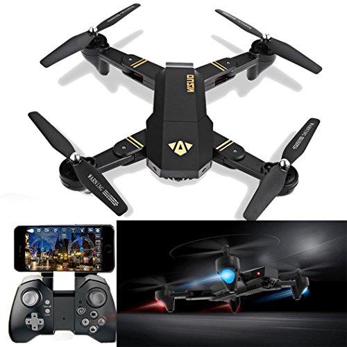 Ularma VISUO XS809HW WiFi FPV 2MP Caméra 2,4 G Selfie Drone RC Quadcopter Jouets