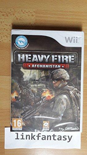 HEAVY FIRE AFGHANISTAN NINTENDO WII
