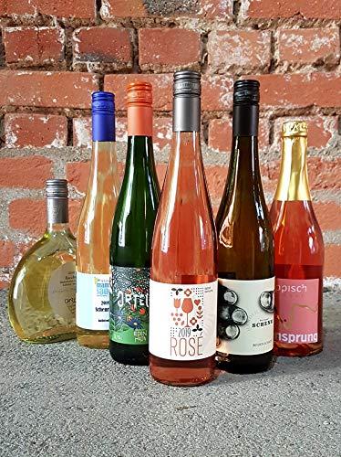 Weinpaket: Balkonien - der ideale Sommer-Wein: 1x Rosé, 1x Secco Rosa, 4x Weisswein je 0.75 l