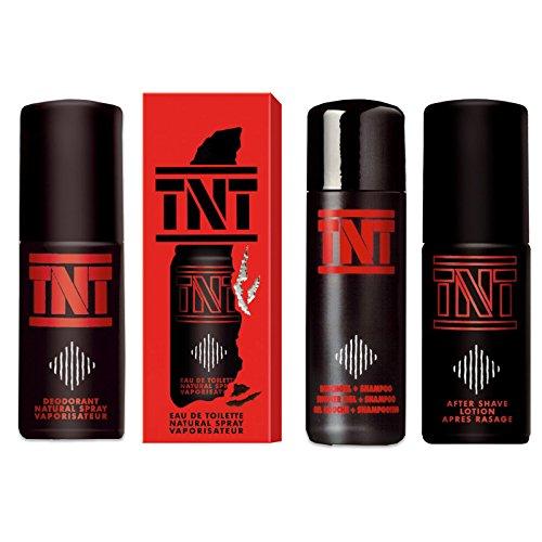 TNT Geschenkset Herren Duschgel + Deo + After Shave + EdT